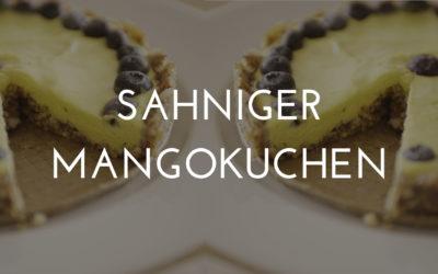 Rohkostkuchen Mango