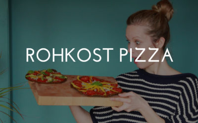 Rohkost Pizza