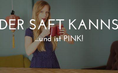 Pinker Saft