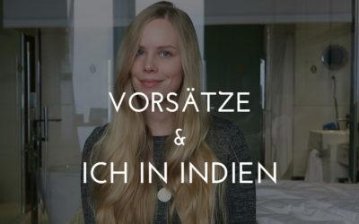 Vorsätze: Kerstin goes India